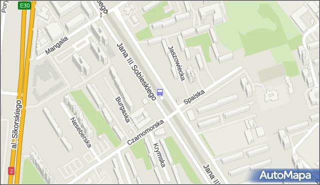 Przystanek Czarnomorska 02. ZTM Warszawa - Warszawa (id 303202) na mapie Targeo