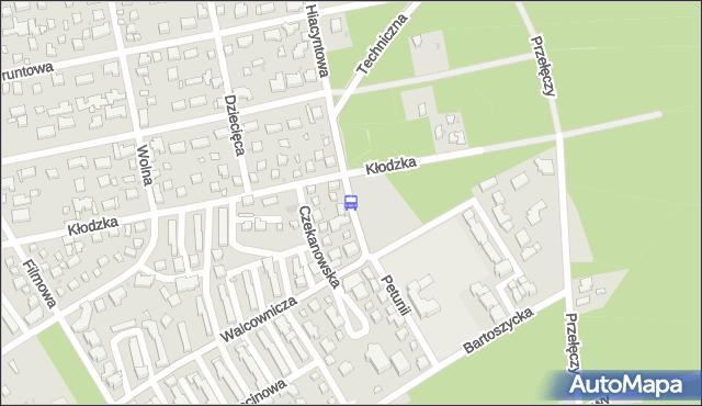 Przystanek Czekanowska 02. ZTM Warszawa - Warszawa (id 204902) na mapie Targeo