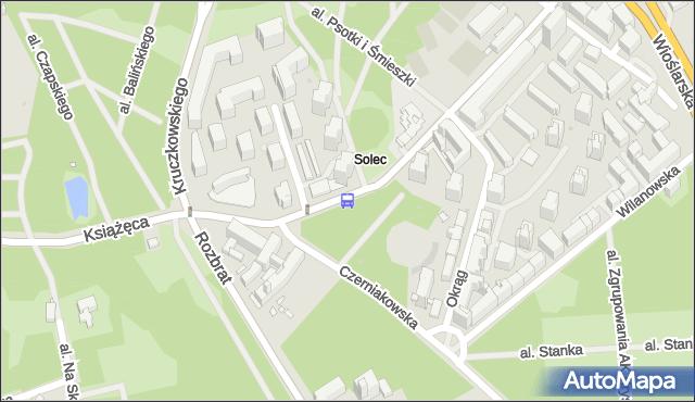 Przystanek Czerniakowska 01. ZTM Warszawa - Warszawa (id 706601) na mapie Targeo