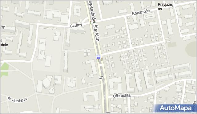 Przystanek Czumy 05. ZTM Warszawa - Warszawa (id 506005) na mapie Targeo