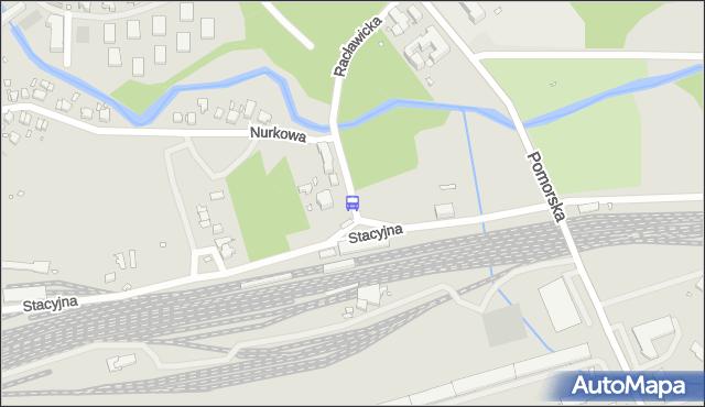 Przystanek Dąbie Dworzec 12. ZDiTM Szczecin - Szczecin (id 71012) na mapie Targeo