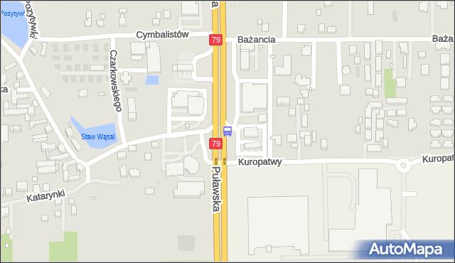 Przystanek Dąbrówka 02. ZTM Warszawa - Warszawa (id 302302) na mapie Targeo