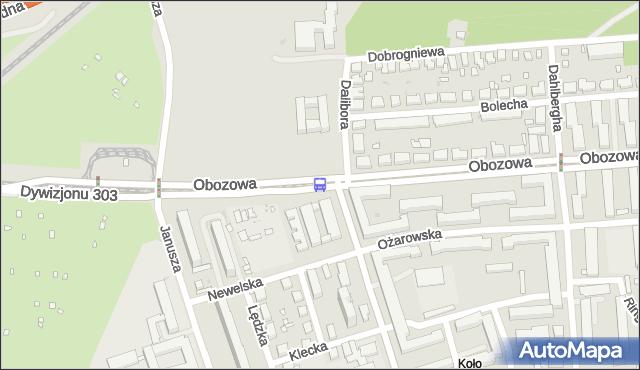 Przystanek Dalibora 01. ZTM Warszawa - Warszawa (id 507201) na mapie Targeo