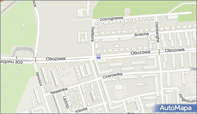 Przystanek Dalibora 02. ZTM Warszawa - Warszawa (id 507202) na mapie Targeo