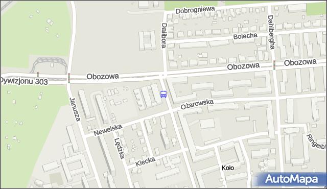 Przystanek Dalibora 03. ZTM Warszawa - Warszawa (id 507203) na mapie Targeo
