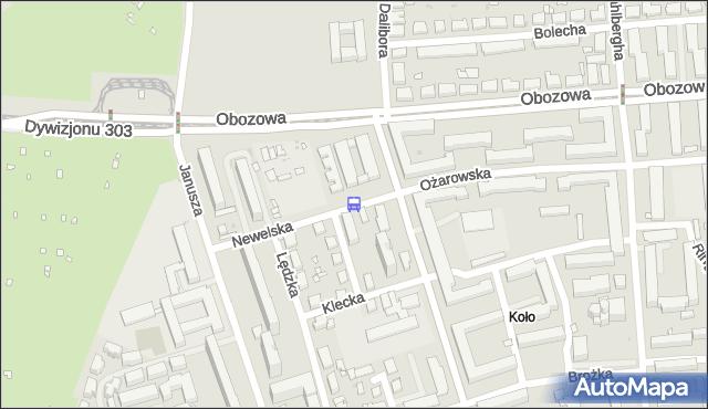 Przystanek Dalibora 04. ZTM Warszawa - Warszawa (id 507204) na mapie Targeo