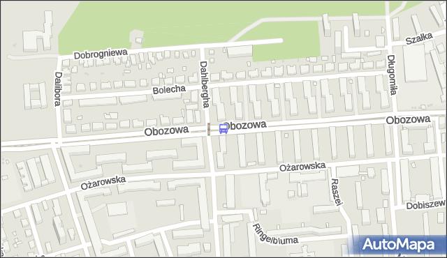 Przystanek Deotymy 02. ZTM Warszawa - Warszawa (id 507102) na mapie Targeo