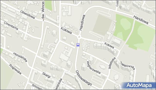 Przystanek DKS Targówek 01. ZTM Warszawa - Warszawa (id 113801) na mapie Targeo