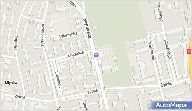 Przystanek Długosza 02. ZTM Warszawa - Warszawa (id 506602) na mapie Targeo