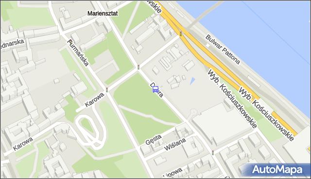 Przystanek Dobra 01. ZTM Warszawa - Warszawa (id 706001) na mapie Targeo