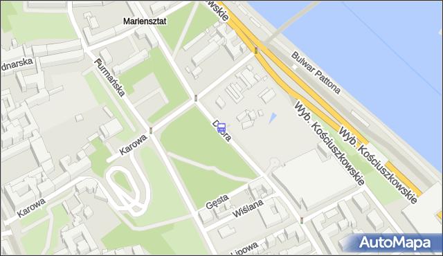 Przystanek Dobra 02. ZTM Warszawa - Warszawa (id 706002) na mapie Targeo