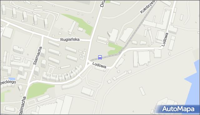 Przystanek Dobromiry 21. ZDiTM Szczecin - Szczecin (id 15821) na mapie Targeo