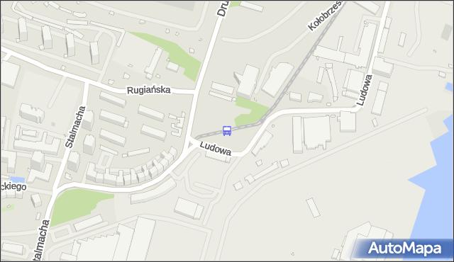 Przystanek Dobromiry 22. ZDiTM Szczecin - Szczecin (id 15822) na mapie Targeo