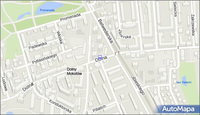 Przystanek Dolna 04. ZTM Warszawa - Warszawa (id 302704) na mapie Targeo