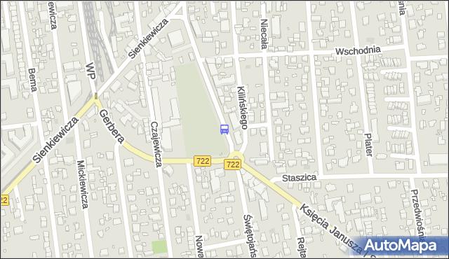Przystanek Dom Kultury 01. ZTM Warszawa - Warszawa (id 320501) na mapie Targeo
