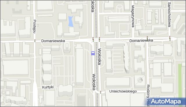 Przystanek Domaniewska 01. ZTM Warszawa - Warszawa (id 324201) na mapie Targeo