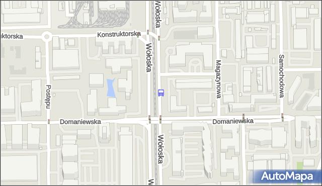 Przystanek Domaniewska 02. ZTM Warszawa - Warszawa (id 324202) na mapie Targeo