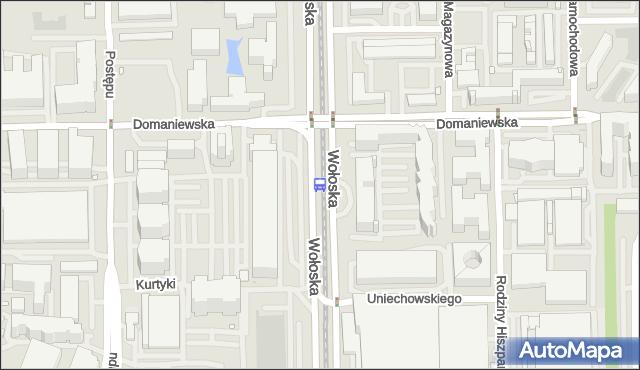 Przystanek Domaniewska 03. ZTM Warszawa - Warszawa (id 324203) na mapie Targeo