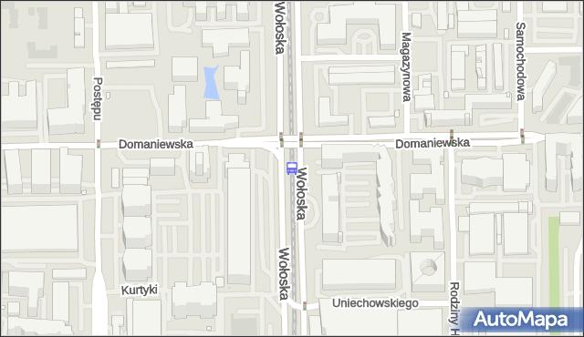 Przystanek Domaniewska 04. ZTM Warszawa - Warszawa (id 324204) na mapie Targeo