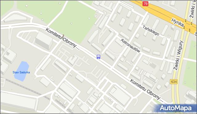Przystanek Drzewieckiego 02. ZTM Warszawa - Warszawa (id 414302) na mapie Targeo