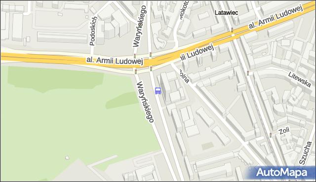 Przystanek DS Riviera 02. ZTM Warszawa - Warszawa (id 703602) na mapie Targeo