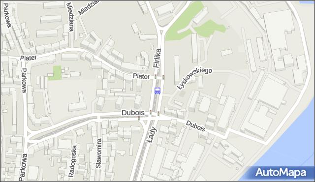Przystanek Dubois 11. ZDiTM Szczecin - Szczecin (id 13311) na mapie Targeo