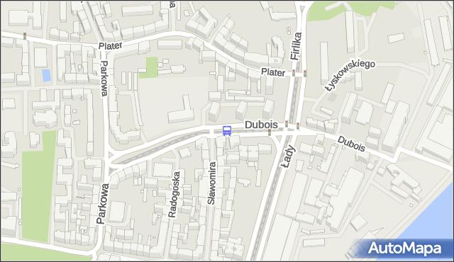 Przystanek Dubois 31. ZDiTM Szczecin - Szczecin (id 13331) na mapie Targeo