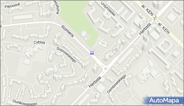 Przystanek Dunikowskiego 04. ZTM Warszawa - Warszawa (id 313104) na mapie Targeo