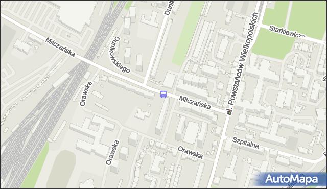 Przystanek Dunikowskiego 12. ZDiTM Szczecin - Szczecin (id 23312) na mapie Targeo