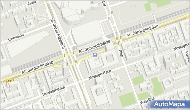 Przystanek Dw.Centralny 01. ZTM Warszawa - Warszawa (id 700201) na mapie Targeo