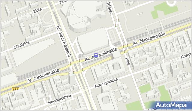 Przystanek Dw.Centralny 02. ZTM Warszawa - Warszawa (id 700202) na mapie Targeo