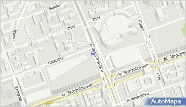Przystanek Dw.Centralny 03. ZTM Warszawa - Warszawa (id 700203) na mapie Targeo