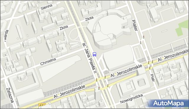 Przystanek Dw.Centralny 04. ZTM Warszawa - Warszawa (id 700204) na mapie Targeo