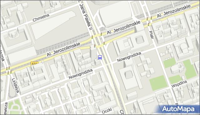 Przystanek Dw.Centralny 05. ZTM Warszawa - Warszawa (id 700205) na mapie Targeo