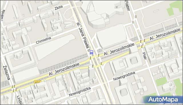 Przystanek Dw.Centralny 09. ZTM Warszawa - Warszawa (id 700209) na mapie Targeo