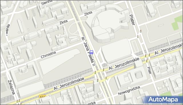 Przystanek Dw.Centralny 10. ZTM Warszawa - Warszawa (id 700210) na mapie Targeo