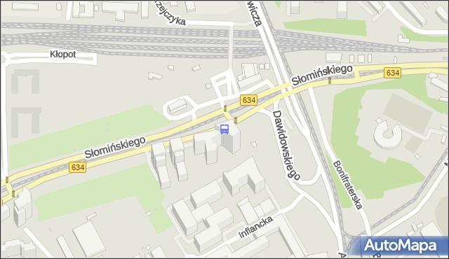 Przystanek Dw.Gdański 03. ZTM Warszawa - Warszawa (id 701903) na mapie Targeo