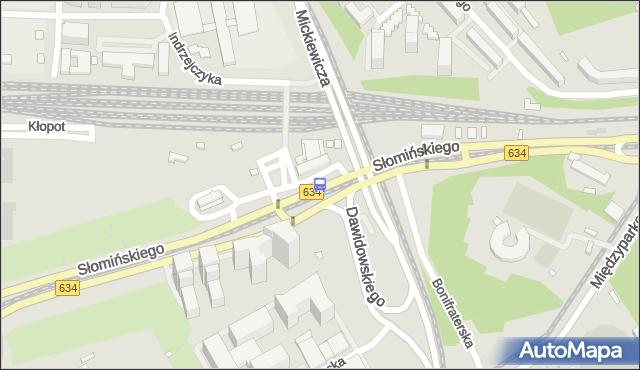 Przystanek Dw.Gdański 04. ZTM Warszawa - Warszawa (id 701904) na mapie Targeo
