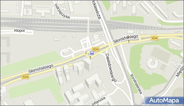 Przystanek Dw.Gdański 08. ZTM Warszawa - Warszawa (id 701908) na mapie Targeo