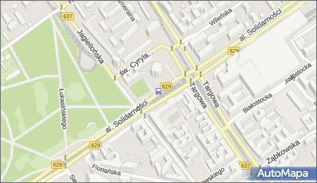 Przystanek Dw.Wileński 05. ZTM Warszawa - Warszawa (id 100305) na mapie Targeo