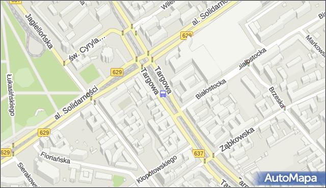 Przystanek Dw.Wileński 07. ZTM Warszawa - Warszawa (id 100307) na mapie Targeo