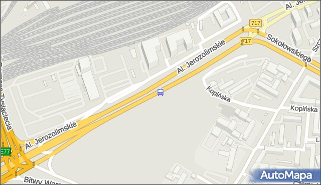 Przystanek Dw.Zachodni 01. ZTM Warszawa - Warszawa (id 404401) na mapie Targeo