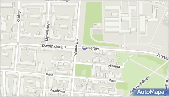Przystanek Dwernickiego 04. ZTM Warszawa - Warszawa (id 211304) na mapie Targeo