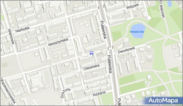 Przystanek Dworkowa 04. ZTM Warszawa - Warszawa (id 300304) na mapie Targeo