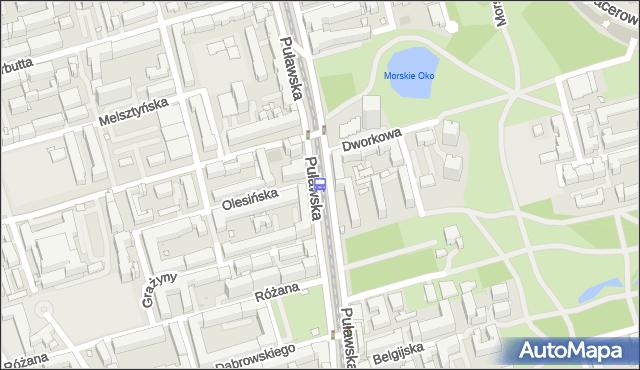 Przystanek Dworkowa 05. ZTM Warszawa - Warszawa (id 300305) na mapie Targeo