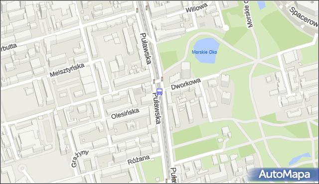Przystanek Dworkowa 06. ZTM Warszawa - Warszawa (id 300306) na mapie Targeo