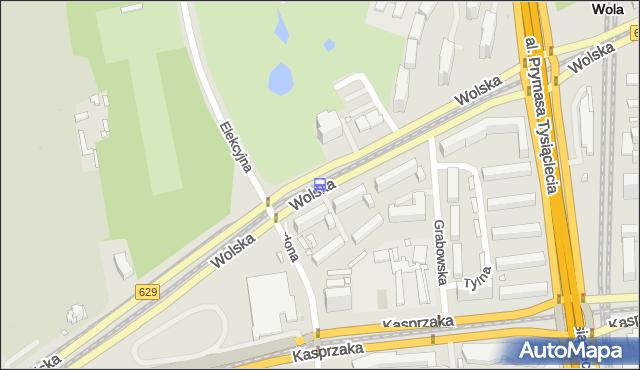 Przystanek Elekcyjna 03. ZTM Warszawa - Warszawa (id 500803) na mapie Targeo