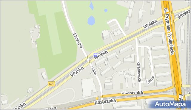Przystanek Elekcyjna 04. ZTM Warszawa - Warszawa (id 500804) na mapie Targeo