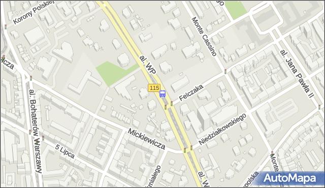 Przystanek Felczaka 12. ZDiTM Szczecin - Szczecin (id 12312) na mapie Targeo