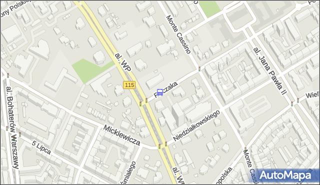Przystanek Felczaka 21. ZDiTM Szczecin - Szczecin (id 12321) na mapie Targeo